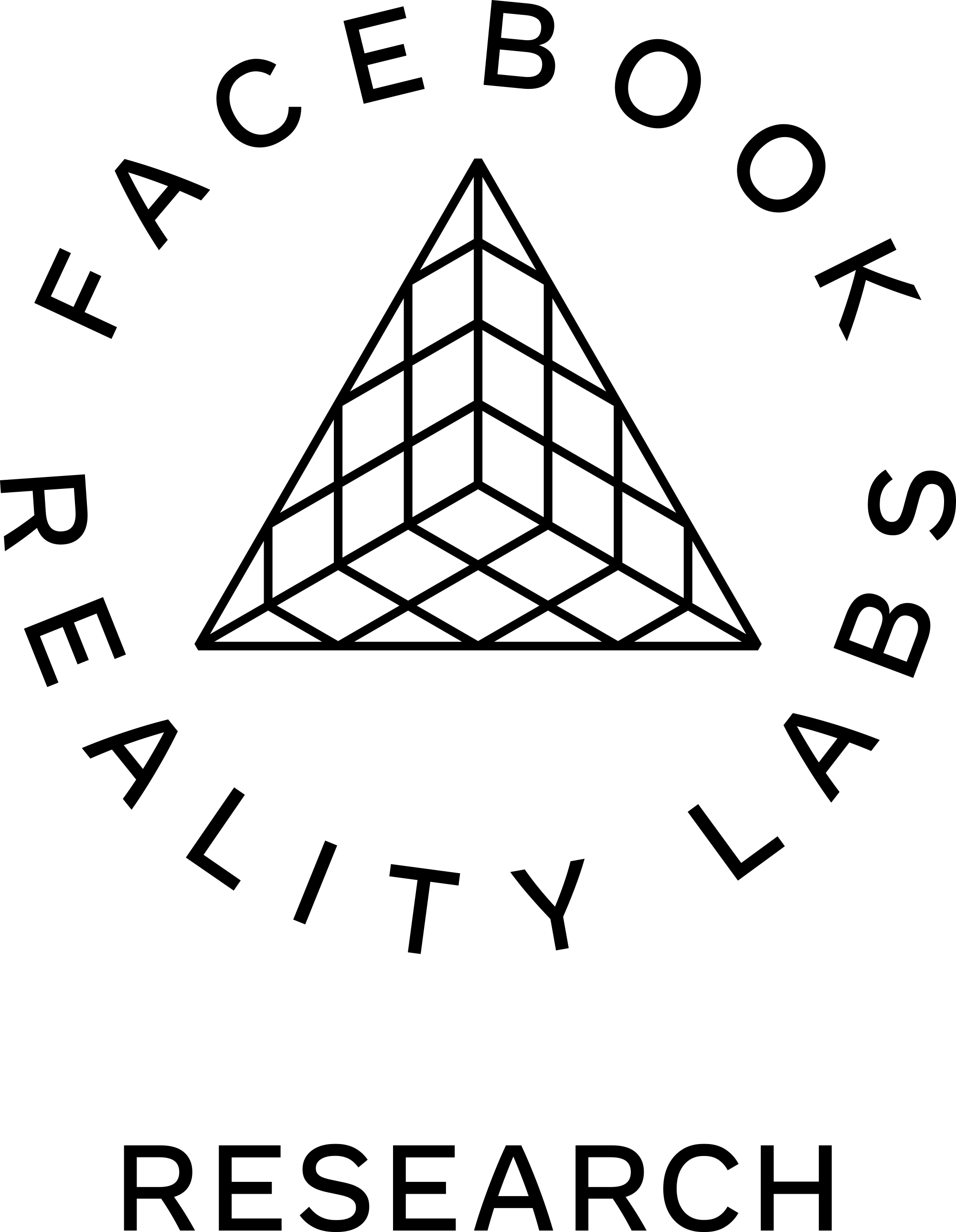 Logo for Facebook Reality Labs, Silver Sponsor